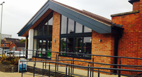 New Cafe for Oadby Trinity Church